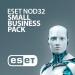 Антивирус ESET NOD32 Small Business Pack (NOD32-SBP-NS(KEY)-1-10)