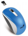 Мышь Genius беспроводная NX-7010 (31030114110) белый+синий металлик