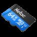 Карта памяти NeTac MicroSD card P500 Standard 64GB (NT02P500STN-064G-R), retail version w/SD adapter