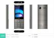 Мобильный телефон F+ B280 Dark Grey