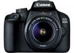 Фотоаппарат цифровой Canon EOS 4000D18-55 Черный