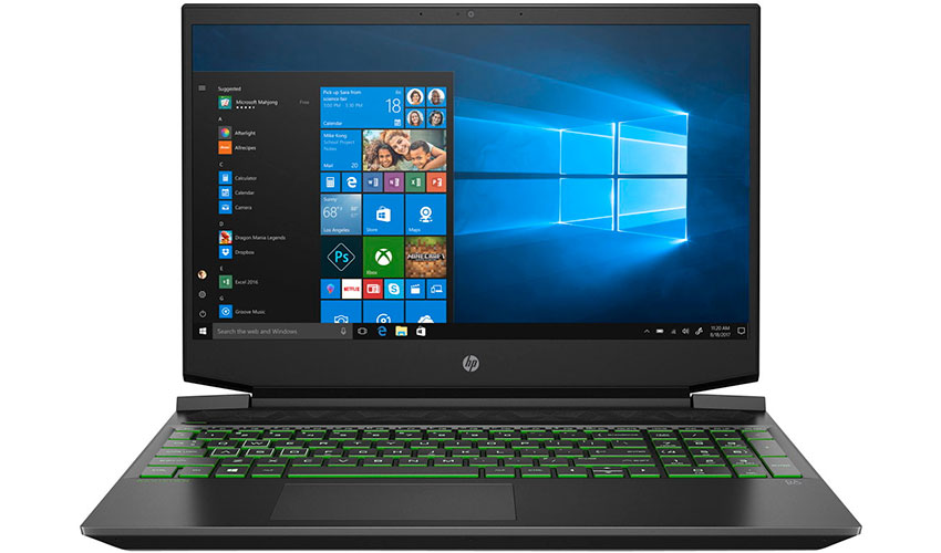 Недорогой игровой ноутбук HP Pavilion 15-ec1000
