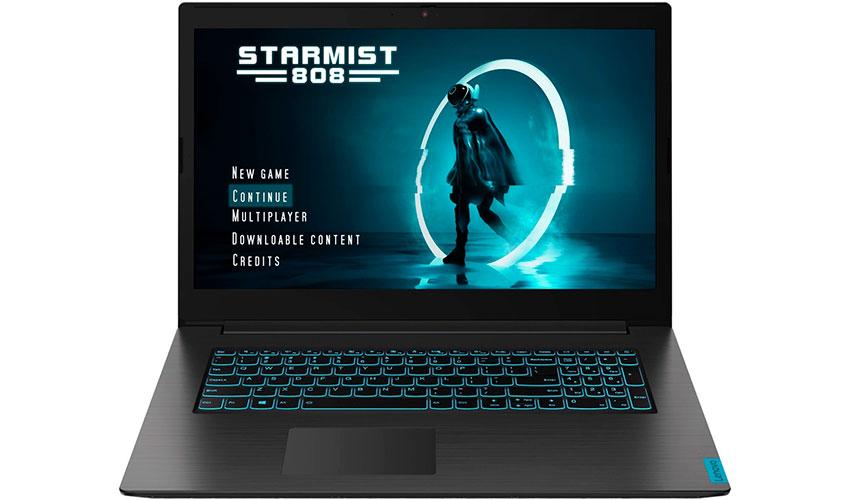 Недорогой игровой ноутбук Lenovo Ideapad L340 17 Gaming
