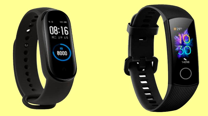 Стоимость Xiaomi Mi Band 5 vs Honor Band 5